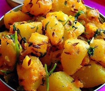 A Potato Dish from North India
