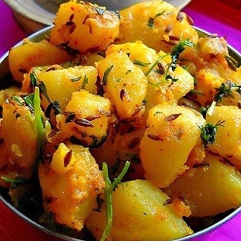 A Potato Dish from North India