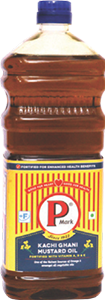 P Mark Fortified Mustard Oil