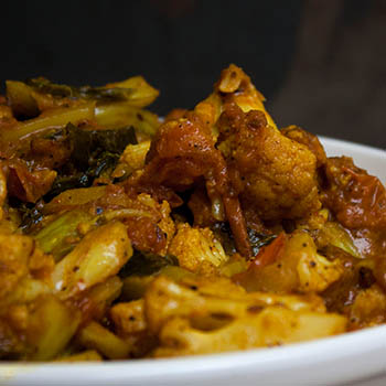 A CAULIFLOWER RECIPE FROM PUNJAB