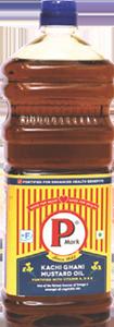 P Mark Fortified Mustard Oil