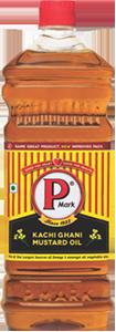 P Mark Kachi Ghani Mustard Oil
